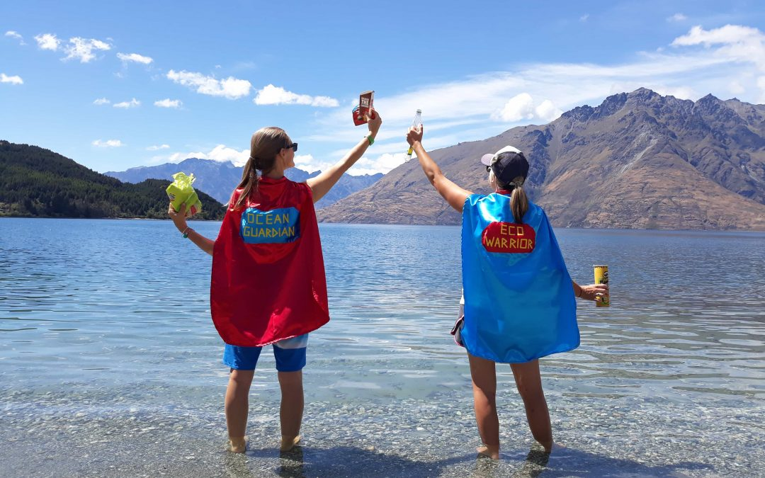 How to Inspire the Next Generation of Ocean Superheroes by Treading Lighter