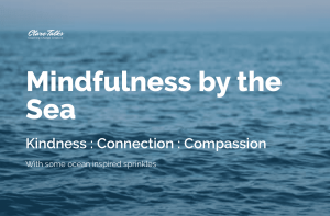 mindfulness by the sea