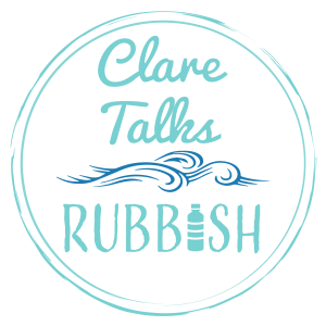 Clare talks rubbish logo