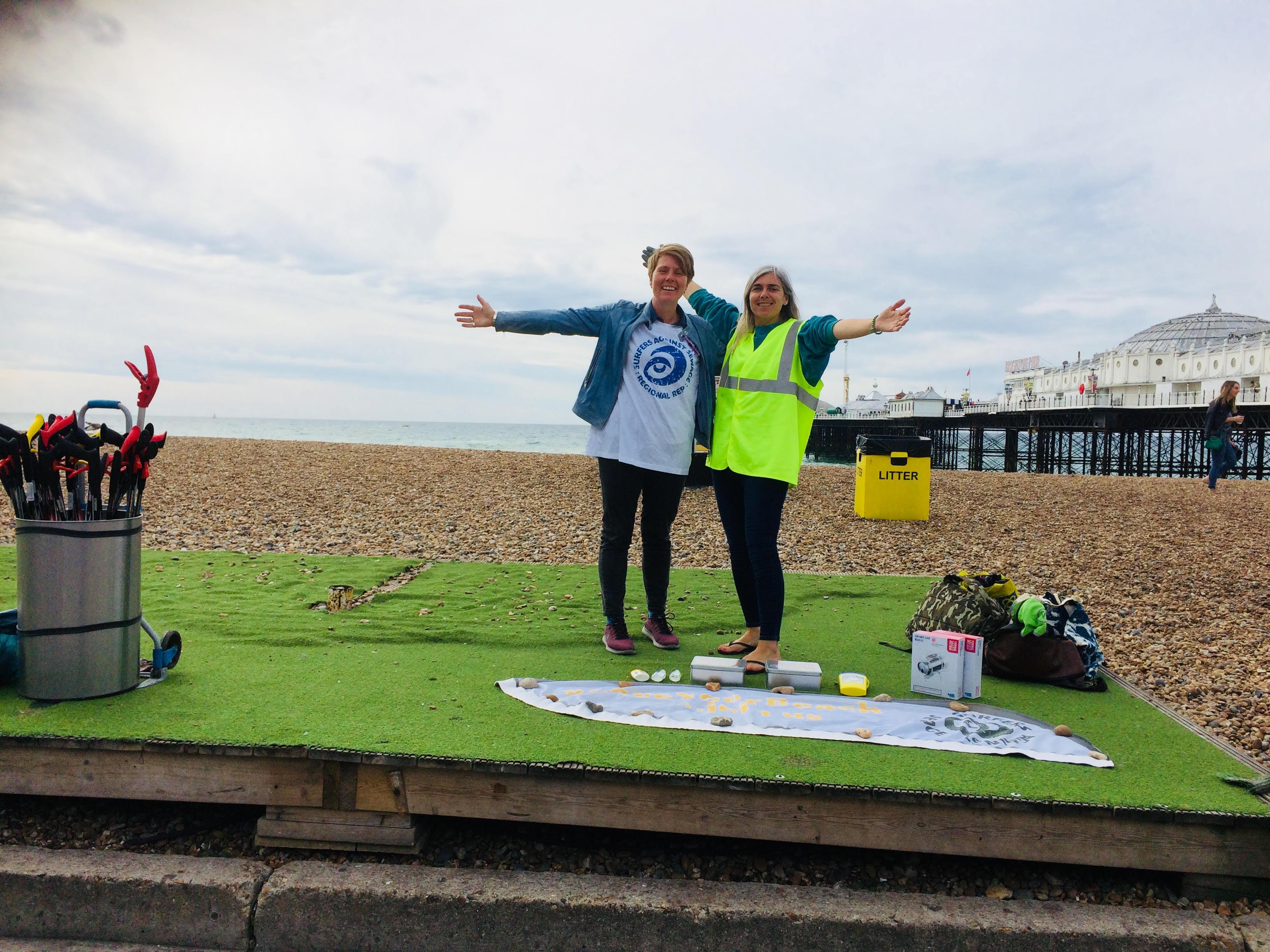 ocean cleanup activist
